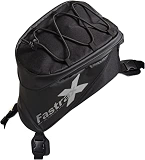 Dowco Fastrax 04739 Xtreme Series: Water Resistant Reflective Motorcycle Tank Bag, Black, 6
