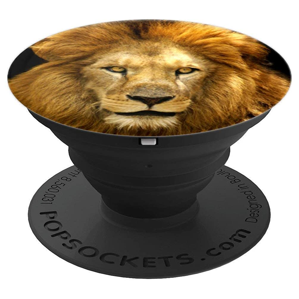 Cute Lion Panther Collapsible Kitty Pop Out Mount - PopSockets Grip and Stand for Phones and Tablets