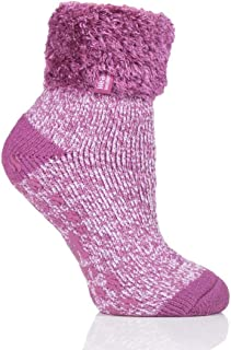 Heat Holders Warm Winter Thermal Lounge Socks UK 4-8 US 5-9