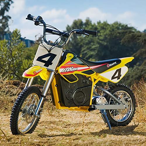 Razor MX650 Dirt Rocket Electric Motocross Bike - Yellow