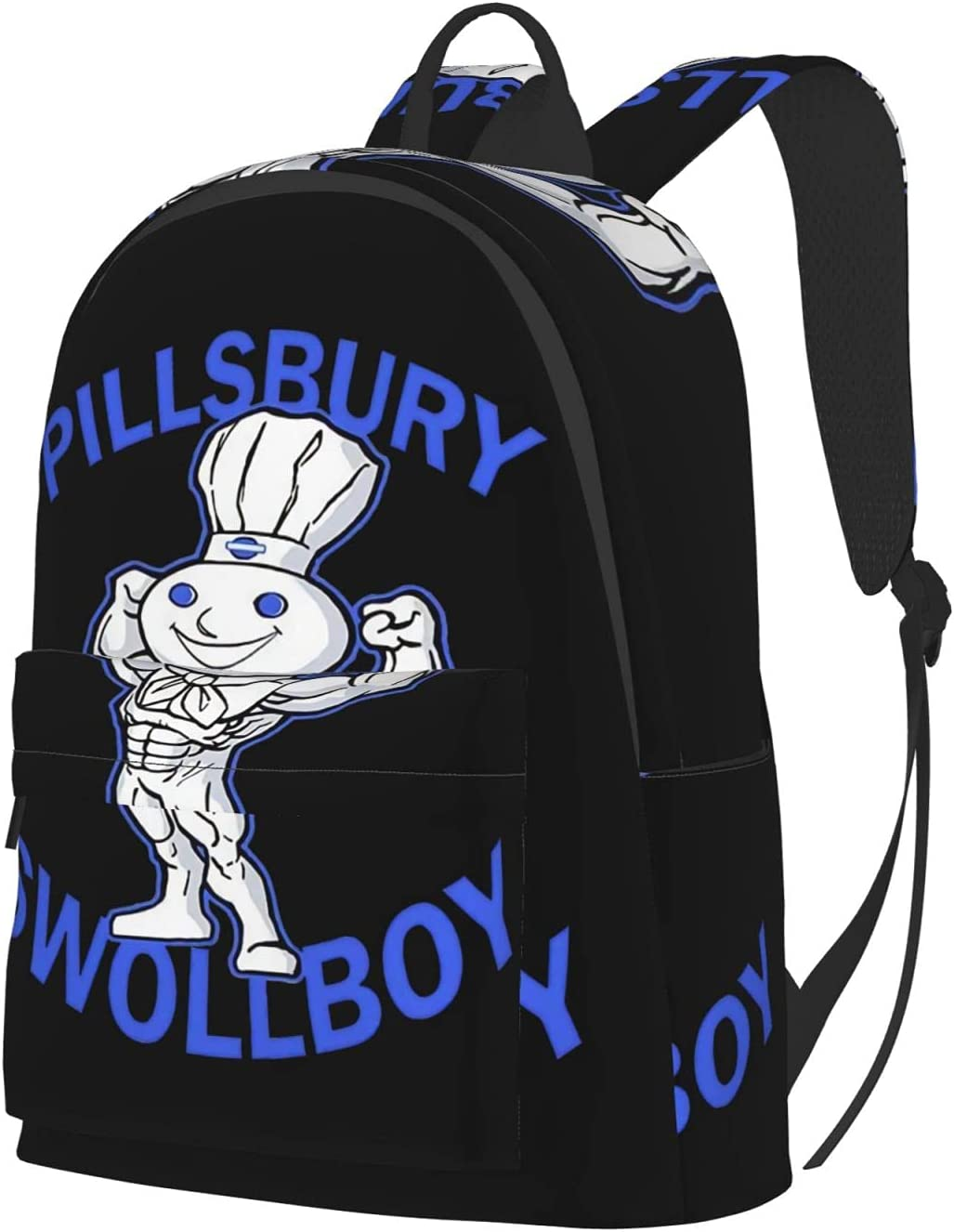 Pillsbury Doughboy Men's Fashion Large-Capacity Women Special Campaign Backpacks Japan Maker New