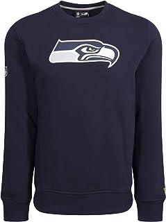 New Era Seattle Seahawks Team Logo T-shirt voor heren, blauw, 4XL