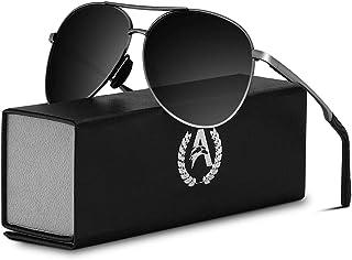 f75a5ec0c0 VVA Gafas de sol Hombre Polarizadas Aviador Hombres Aviador Gafas de sol  Polarizadas Hombre Unisex Protección