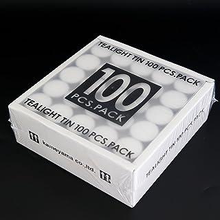 カメヤマキャンドルハウス キャンドルアルミカップ (ティーライトティン) 単品 100個入