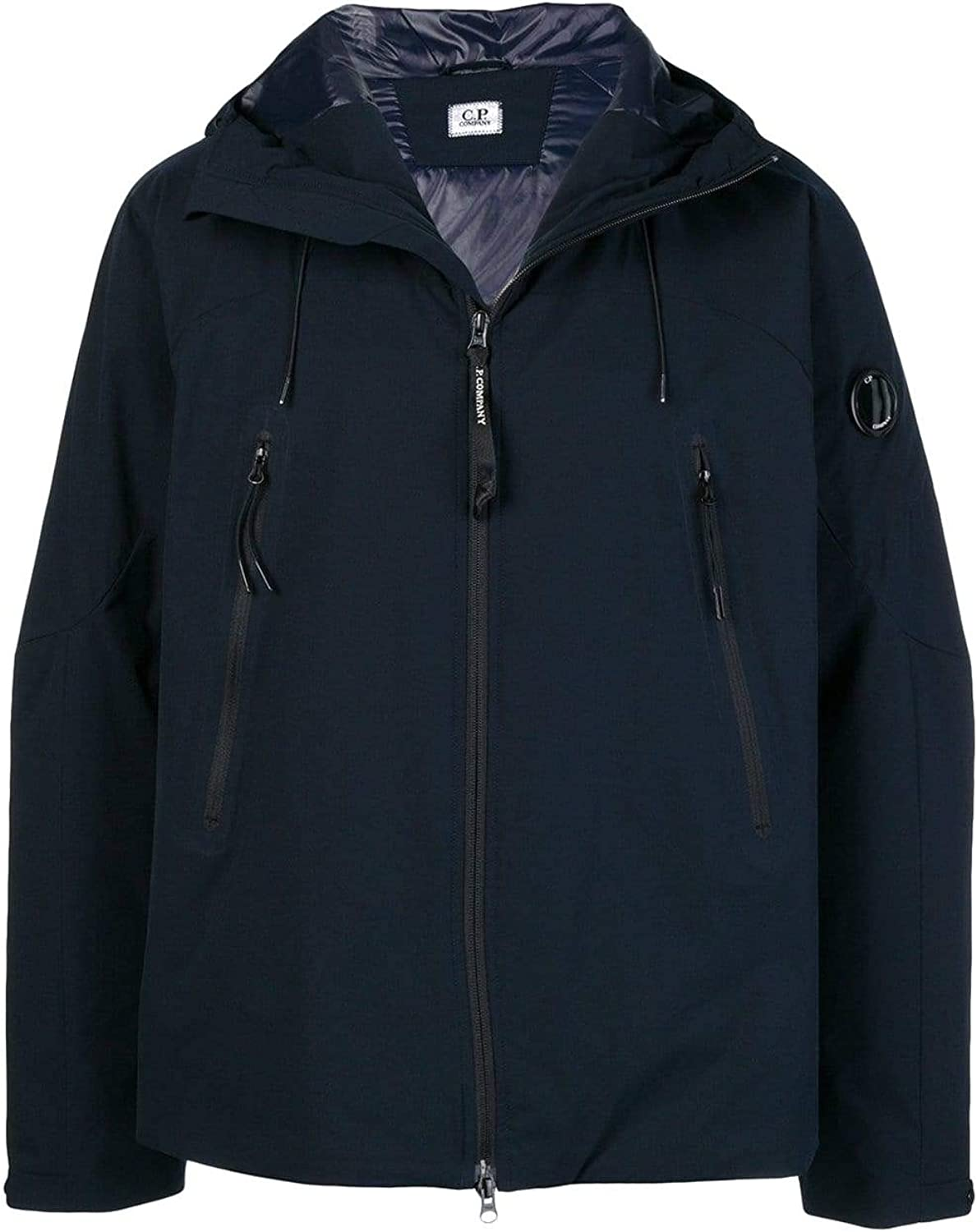 CP COMPANY Men's 06CMOW019A004117A888 blueee Polyester Jacket