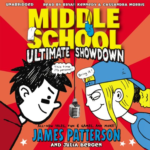 Middle School: Ultimate Showdown audiobook cover art