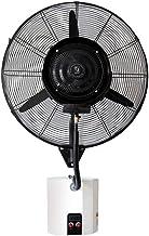 Heavy-duty Fan Krachtige Wall Mounted Fan Spray bevochtiging Cooling Quiet Fan oscillerend elektrisch Misting Horn Ventila...