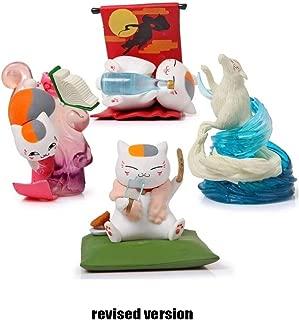 4pcs/Set 3 Inches Natsume Yuujinchou Cat Toy Figure Set