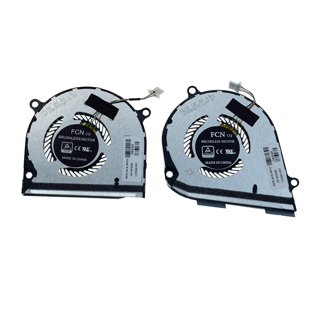 wangpeng CPU and GPU Cooling In a popularity Fan 15-DS Envy for X360 Max 55% OFF Replacement