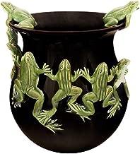 Bordallo Pinheiro Frog Dance Pot