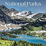 National Parks 2022 12 x 12 Inch Monthly Square Wall Calendar with Foil Stamped Cover, USA United States of America Scenic Nature