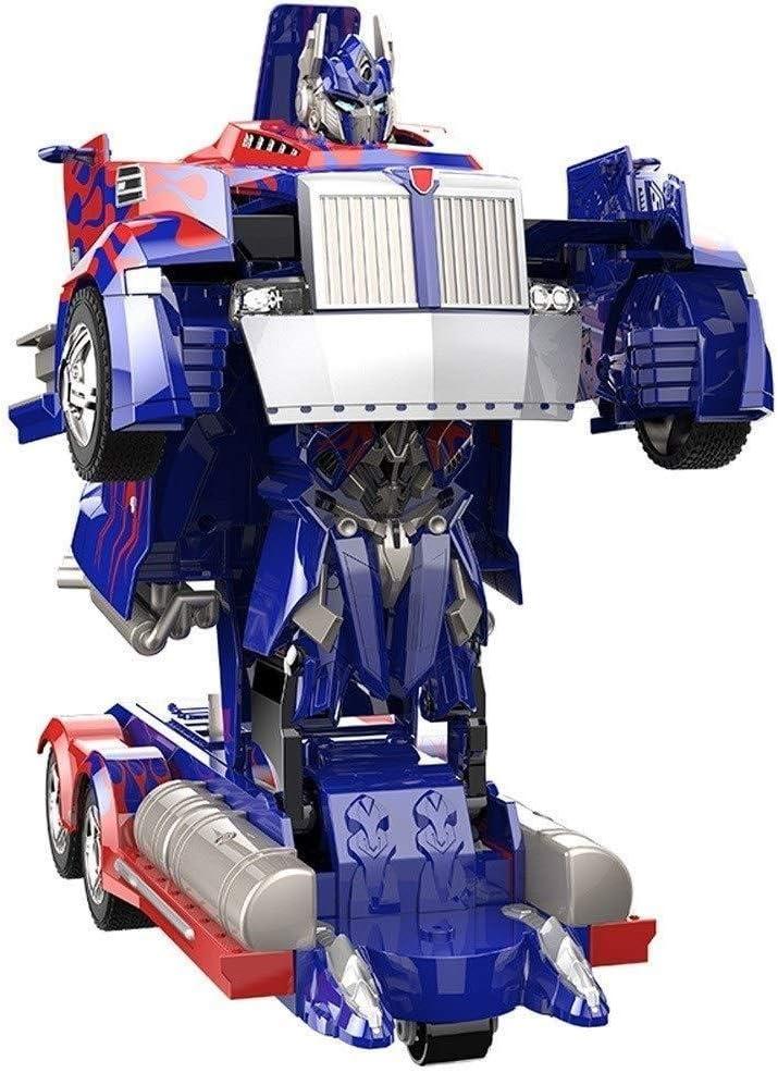Geschenk Der Kinder YXIAOL Ferngesteuertes Auto Transformers RC-Autosimulation Eine Knopfdeformation Die Supersportwagenmodellspielzeug-Roboterauto L/äuft