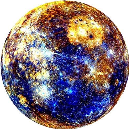 1000 PCS Earth / Moon Puzzle, Papppuzzle, Familienpädagogisches Unterhaltungsspiel, Intelligence Challenge Puzzle für Erwachsene und Kinder (Mercury)
