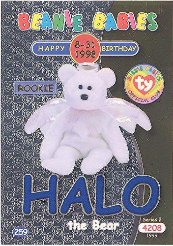 BBOC Cards TY Beanie Babies Series 2 Birthday (Blue) - Halo The Bear