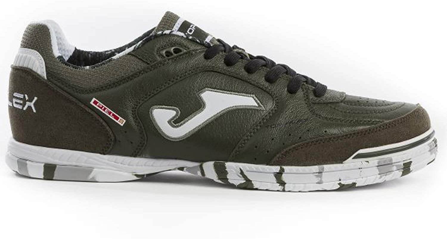 Joma TOP Flex Indoor Soccer shoes 923 Dark Green Calcetto Scarpa