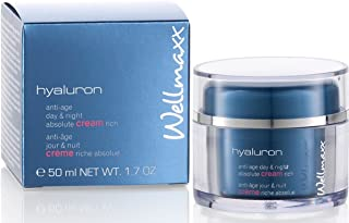 Wellmaxx Hyaluron - Anti-Age Day & Night Fluid Concentrate 50Ml