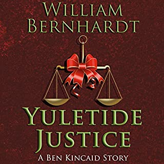 Yuletide Justice audiobook cover art