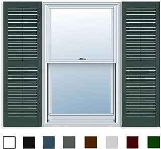 Best exterior window shutters diy Reviews