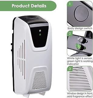 Dispensador De Ambientador De Aire Sensor De Luz Tipo De Ventilador Difusor Botella Recargable De 80 Ml Junto Con Dos Piezas De Tira De Papel Dispensador De Ambientador De Aire Para Baños, Cocinas