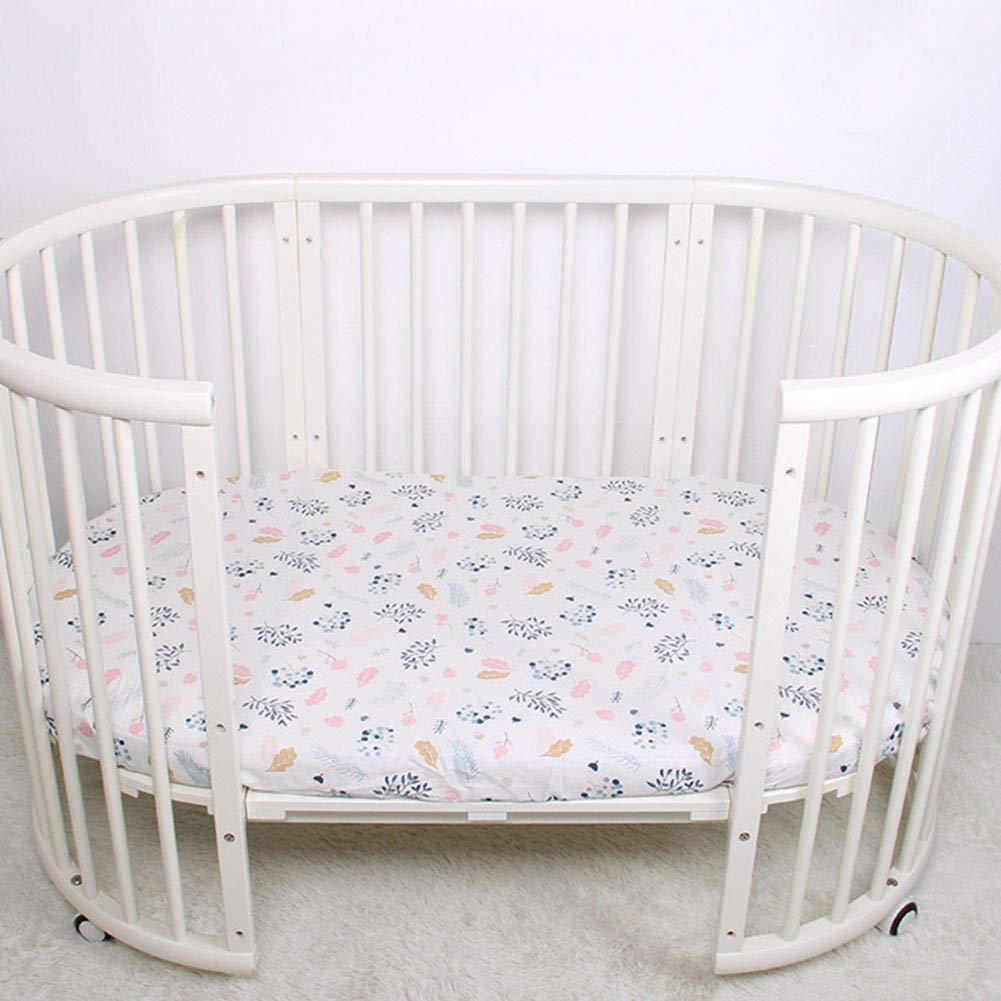 Cotton Opening large release Mail order sale Connection Baby Sheet Soft Crib Fitted Stret