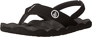 Volcom Boy's Recliner Flip Flop Heel Strap Sandal