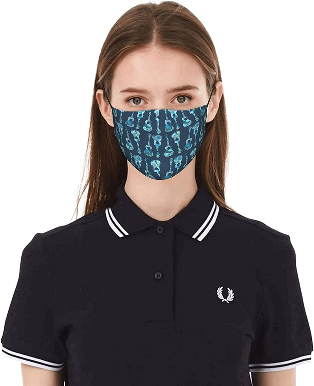 Face Mask New Free Shipping Guitar Ukulele Omaha Mall Disposable Masks Cloth Breathable