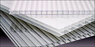 Polycarbonate Greenhouse Cover 8mm - Clear (Pak of 4)