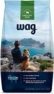 Amazon Brand - Wag Dry Dog Food Lamb & Lentil Recipe (30 lb. Bag)