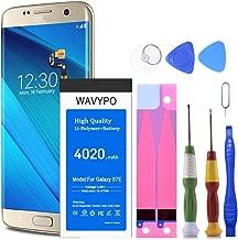 (Upgraded) Galaxy S7 Edge Battery, Wavypo 4020mAh EB-BG935ABE Li-Polymer Battery Replacement for Samsung Galaxy S7 Edge G935V G935P G935A G935F G935T [24 Month Warranty]