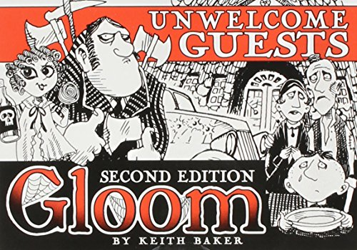Atlas Games ATG01353 - Gloom - Unwelcome Guests, 2nd Edition, Kartenspiel