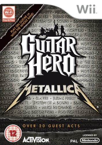 Guitar Hero: Metallica - Game Only (Wii) [Importación inglesa]