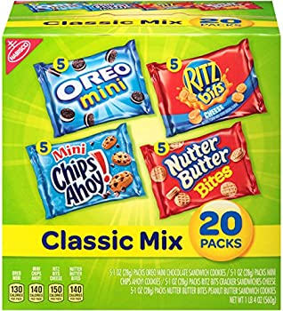 20-Pack Nabisco Classic Mix Variety Pack with Cookies & Crackers