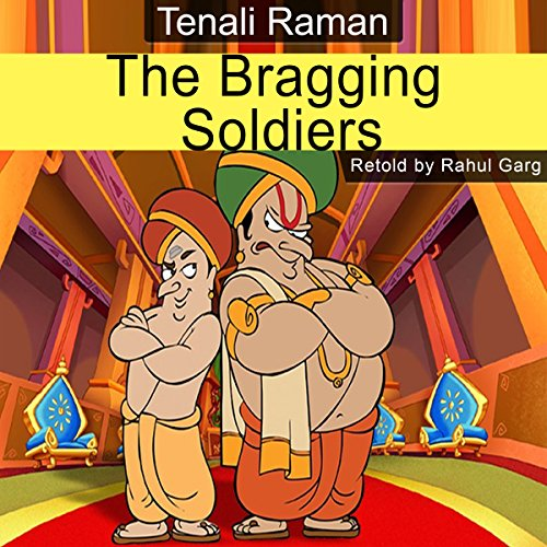 The Bragging Soldiers audiobook cover art