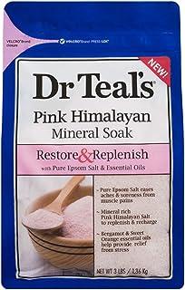 Dr. Teal's Epsom Bath Salt Pink Himalayan Mineral Soak, 1.36Kg