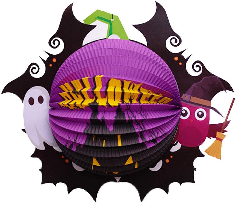 Wsjwj Nachtlichter & Schlummerleuchten Halloween Dekoration Kürbis Lampe Papier Laterne Bar KTV Kindergarten Szene Layout liefert Laterne Anhänger B07HNJPN8F Wirtschaftlich und praktisch   Qualität