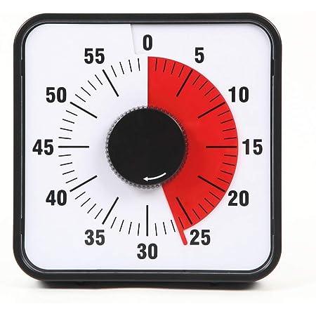 Precious Time 60分タイマー 勉強 スクールタイマー キッチンタイマー 子供 学習用 アラーム 幼児教育 知育 時間管理 19cm マグネット