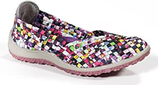 Zee Alexis Spice Womens Woven Slip On Shoes Mosaic Multi