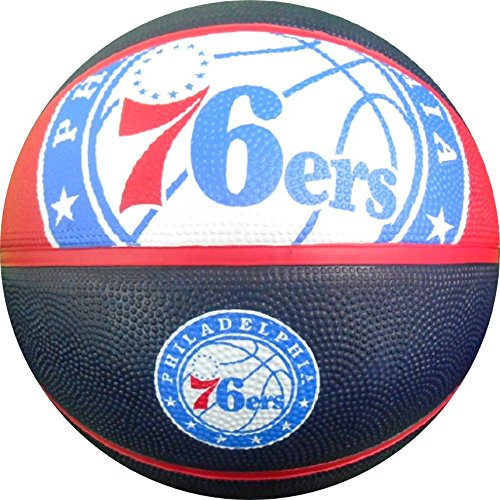 Best Buy! Spalding NBA Philadelphia 76ers Team Logo Basket Ball, 29.5, Multicolor