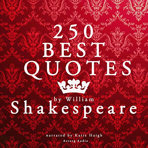 250 Best Quotes by William Shakespeare cover art