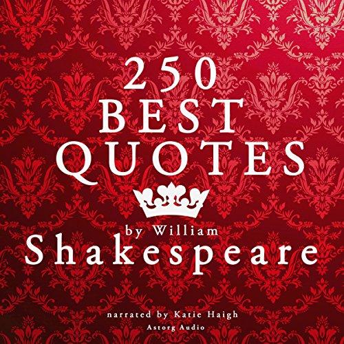250 Best Quotes by William Shakespeare Titelbild