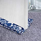 My OLi Under Door Draft Stopper 30-36' Twin Door Draft Blocker Adjustable Door Sweeps Noise Blocker Weather Stripping Window Breeze Blocker