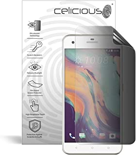Celicious Privacy 2-Way Anti-Spy Filter Screen Protector Film Compatible with HTC Desire 10 Lifestyle