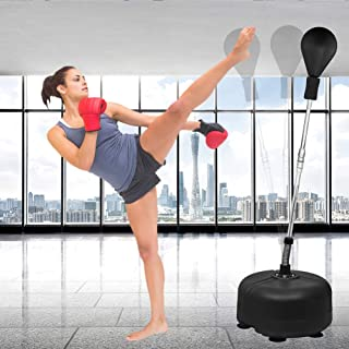 U'King Reflex Bag Boxing Bag Bring Support Height Adjustable Detached Firm Stress Relief Durable Movement Tumbler Boxing Ball