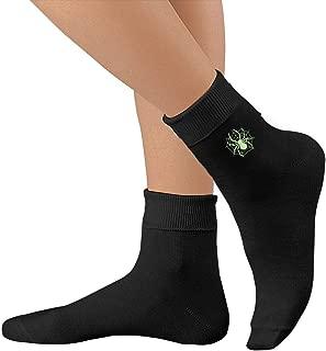 Spider Web Glow In The Dark Casual Cotton Socks Unisex Sports Socks