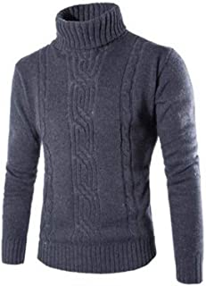 New Men's Sweater Fashion Jacquard Pure Color England Style Casual Pullover Mens Sweaters 2018