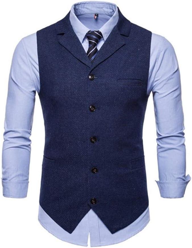 QWERBAM Wedding Dress Goods Cotton Men's Grey Year-end annual account Black Vest Suit Washington Mall Me