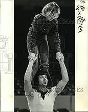 Historic Images - 1978 Press Photo Igor Ashkinazi and Partner, New Orleans Gymnastics Coach