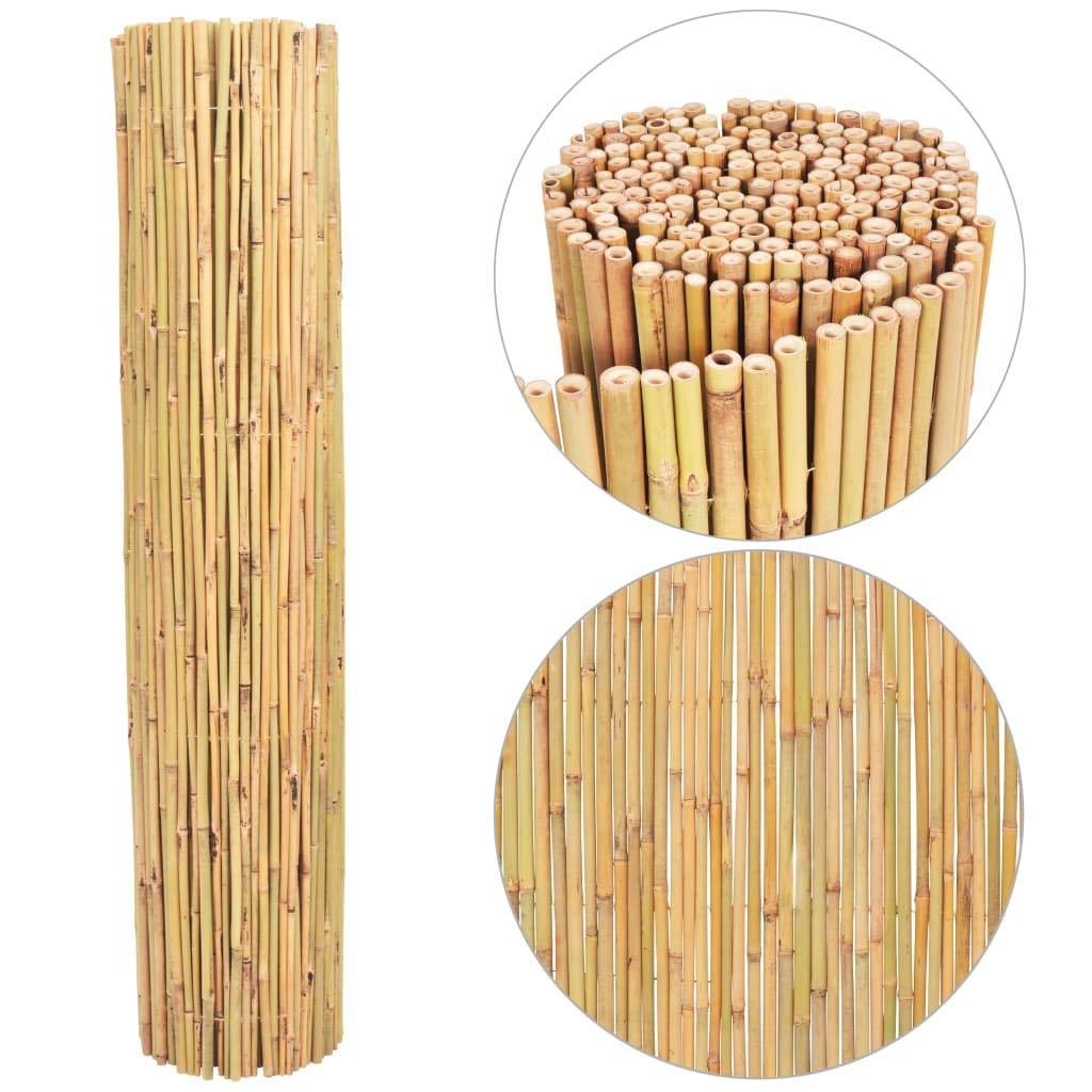 Festnight Valla de Bambú Vallas para Jardin 300x125 cm: Amazon.es: Hogar