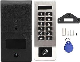 Fdit Roestvrijstalen Digitaal Toetsenbord Elektronisch Codeslot Home Security Card Wachtwoord Deurslot voor Sauna Locker