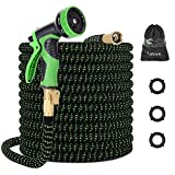 Best Hose 100 Feet Extra Durables - LETIME Expandable Garden Hose 100 Feet, Durable Water Review